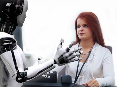 Robot in grado di lavorare con le loro mani